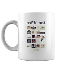 The Office Quote Did I Stutter Mash-Up Funny Mug, Office Lov