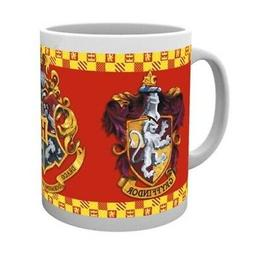 Official Harry Potter Hogwarts House Crest Coffee Mugs - 4 A