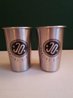 Old Chicago Restaurant 5oz metal cups, lot of