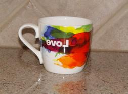 KONITZ~On Colour Flow Mug~LOVE~Porcelain~Hearts~multiples av