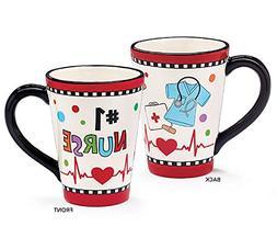 Number One #1 Nurse Ceramic Coffee or Tea Mug