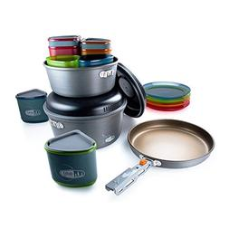 GSI Outdoors - Pinnacle Camper, Nesting Cook Set, Superior B