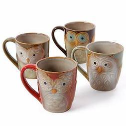 Owl City Elite Couture Ceramic Coffee Tea Beverage Mug Large