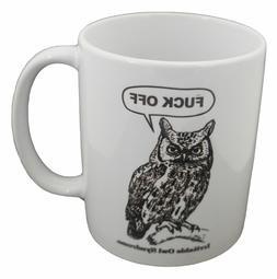 Owl Syndrome Funny Design Novelty Gift Tea Coffee Office Mug