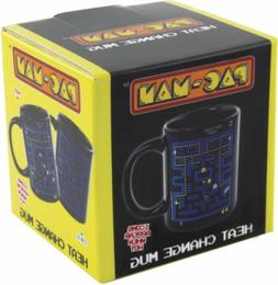 Pac-Man Heat Sensitive Color Change Ceramic Coffee Mug