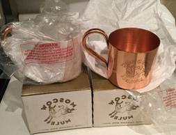 Pack of 2 Moscow Mule Copper Mug  Mew Moscow Mule 100/ Coppe