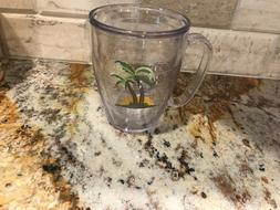 TERVIS - PALM TREES WITH SUNSET -  INSULATED 16 OZ HANDLED M