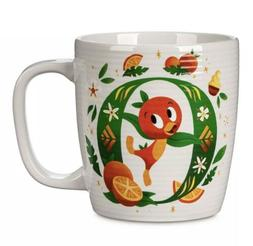 Disney Parks ABC Letters O is for Orange Bird Ceramic Coffee
