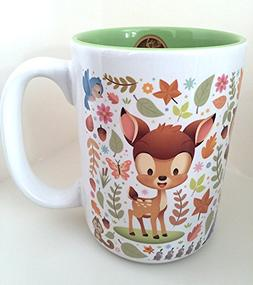 Disney Parks Bambi Cuties Character Ceramic Mug NEW