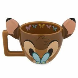 Disney Parks Bambi Emoji 3D Ceramic Mug Coffee Cup