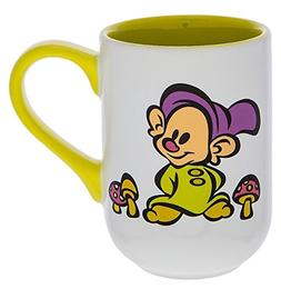 Disney Parks Dopey from Snow White Castle Mug Yellow Handle