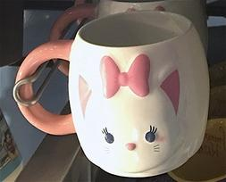 Disney Parks Marie the Cat Tsum Tsum Ceramic Mug NEW Aristoc