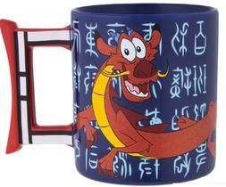 Disney Parks Mulan Mushu Ceramic Coffee Mug New