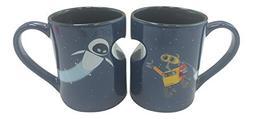 Disney Parks Exclusive Wall-e and Eve 12 Oz. Mug Set
