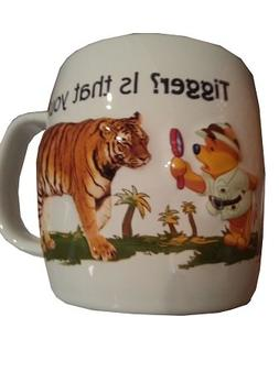 Disney Parks Animal Kingdom Winnie the Pooh and Tiger Cerami