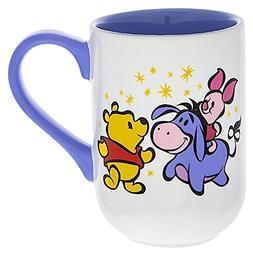 Disney Parks Winnie the Pooh and Eeyore Castle Mug Lavender
