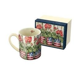 Patriotic Flowers 14 oz Mug,  by Lang Companies