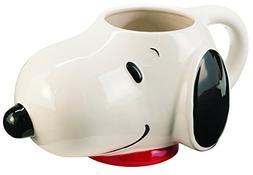 Peanuts Snoopy Sculpted Ceramic Mug cup 16 oz NEW