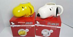16oz. Peanuts Woodstock Sculpted Ceramic Mug Coffee Tea,NIB