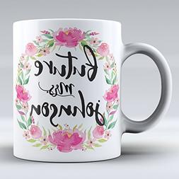 Personalized Engagement Mug Future Mrs Mug Engagement Gift F