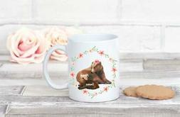 Personalized Mama Bear Mug Funny Mom Mug Cute Coffee Mug Fun