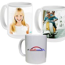Personalized Mug  Next Day Shipping - Use a photo or logo im