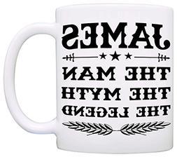 Personalized!! Papa The Man The Myth The Legend Coffee Mug,