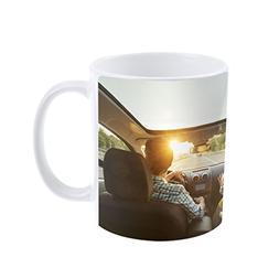 Personalzied Custom Photo Coffee Mug Cup, DIY Print Create Y