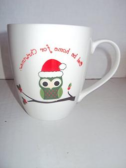 "Pfaltzgraft ""Owl Be Home For Christmas"" Jumbo Oversized Coff"