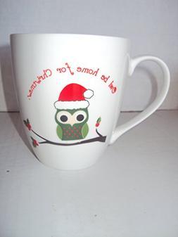 "Pfaltzgraft ""Owl Be Home For Christmas"" Jumbo Oversized Coff"