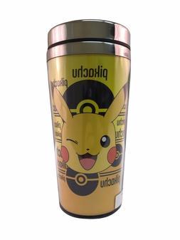Pokemon Pikachu Travel Mug With A Metal Lid
