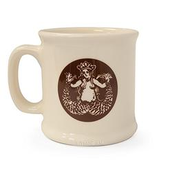 Starbucks Pike Place Ceramic Mug, White, 14 fl oz