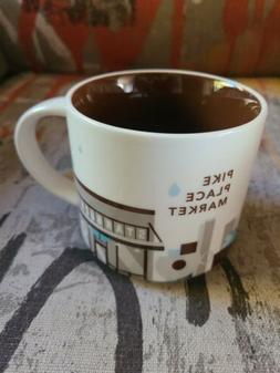 Starbucks Pike Place Market You Are Here Coffee Mug Cup 14 O