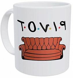 Della Pace Pivot Friends Couch Sofa 11 Ounces Funny Coffee M