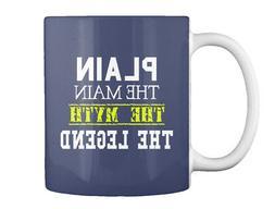 Plain Man - The Main Myth Legend Gift Coffee Mug
