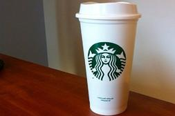 Starbucks plastic mug cup 16oz USA limited paper cup-style S