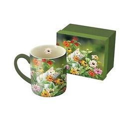 Please Don't Eat the Zinnias 14 oz Mug,  by Lang Companies