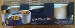 CorningWare Pop-In 20-fl oz Vented Stoneware 6 Piece Mug Set