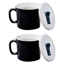 CorningWare Colours Pop-Ins 20-oz Soup Mug with Lid - 2 Pack