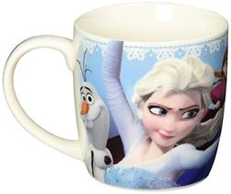 Zak! Designs Porcelain Mug with Elsa, Anna and Olaf from Fro