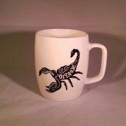 Porcelain Zodiac Scorpio  Mug 18oz White - Threshold