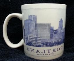 "Starbucks Portland Oregon Architecture Series City Mug Cup """
