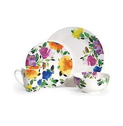 Gourmet Basics by Mikasa Provence Garden 16-Pc. Porcelain Ki