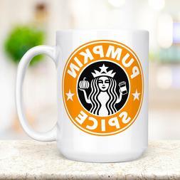 Pumpkin Spice Coffee Mug Microwave And Dishwasher Safe Ceram