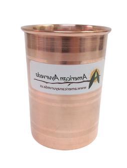 pure copper cup 8 oz tumbler glass