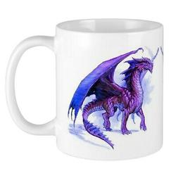 CafePress Purple Dragons Mug 11 oz Ceramic Mug