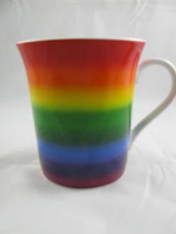 Rainbow Mug Gay Pride by Konitz Porcelain 12oz New
