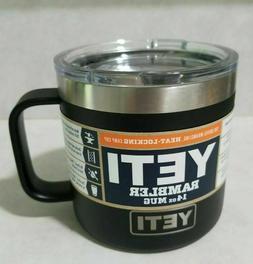 YETI Rambler 14 oz Mug Black BRAND NEW!