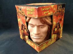 RARE 1998 The Legend of Hercules Figural Face Mug By Vandor