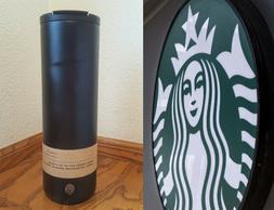 RARE Starbucks 20 oz Matte Black Stainless Steel Tumbler - M